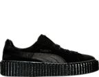 Women's Puma Fenty x Rihanna Suede Satin Creeper Casual Shoes