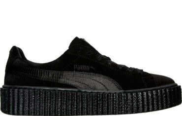 WOMEN'S PUMA SUEDE CREEPER SATIN
