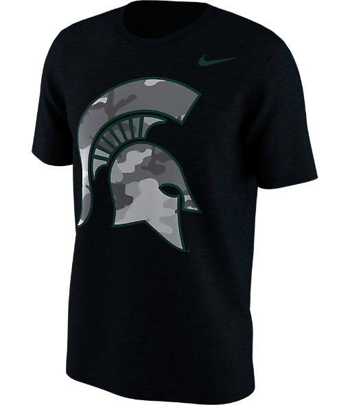 Men's Nike Michigan State Spartans College Camo Pack T-Shirt