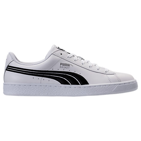 Men's Puma Basket Classic Badge Casual Shoes