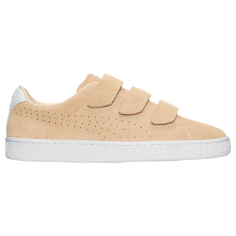 Men's Puma Basket Classic Strap Casual Shoes