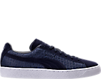 Men's Puma Suede Classic Emboss V2 Casual Shoes