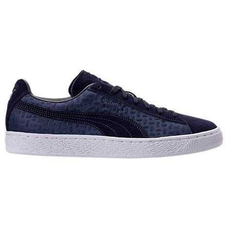 Men's Puma Suede Classic Emboss V2 Casual Shoes