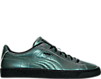 Men's Puma Basket Classic Holographic Casual Shoes