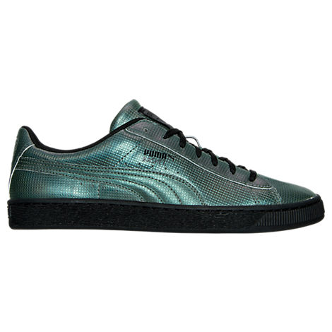 Men's Puma Basket Classic Holographic Casual Shoes