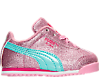 Girls' Toddler Puma Roma Glitz Glamm Casual Shoes