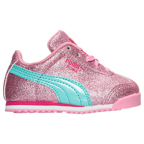Girls' Toddler Puma Roma Glitz Glamm Casual Shoes