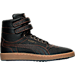 Right view of Men's Puma Sky II Hi Bball Casual Shoes in Puma Black/Gold
