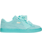 Women's Puma Suede Heart Reset Casual Shoes