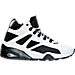 Right view of Men's Puma Blaze of Glory Sock Boot Quilted Casual Shoes in White/Black