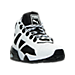 Three Quarter view of Men's Puma Blaze of Glory Sock Boot Quilted Casual Shoes in White/Black
