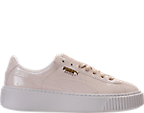 Women's Puma Basket Platform Casual Shoes