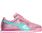 Girls' Preschool Puma Roma Glitz Glamm Casual Shoes