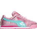 Girls' Preschool Puma Roma Glitz Glamm Casual Shoes