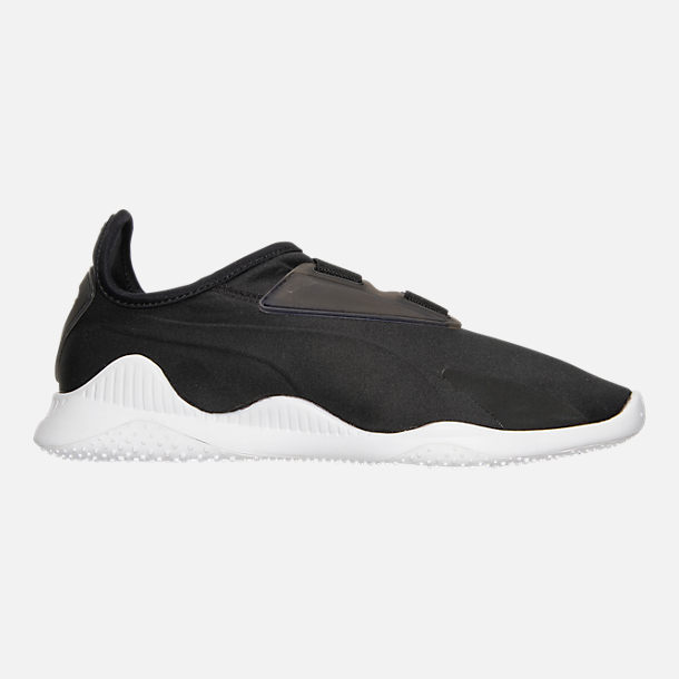 Right view of Women's Puma Mostro Casual Shoes in Puma Black/Puma Black