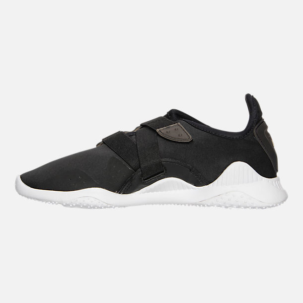 Left view of Women's Puma Mostro Casual Shoes in Puma Black/Puma Black