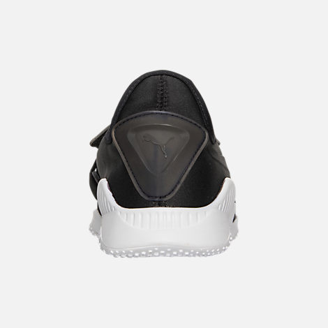 Back view of Women's Puma Mostro Casual Shoes in Puma Black/Puma Black