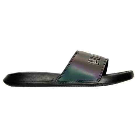 Women's Puma Popcat Swan Slide Sandals