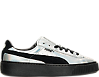 Women's Puma Suede Platform Casual Shoes