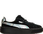 Women's Puma Suede Platform Casual Shoes