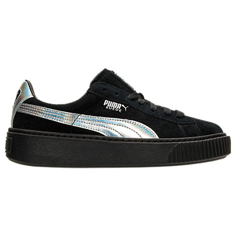 Women's Puma Basket Platform Explosive Casual Shoes