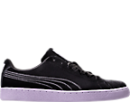 Women's Puma Basket Classic Velour Casual Shoes