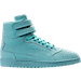 Right view of Men's Puma Sky II Hi Nubuck Casual Shoes in Aruba Blue