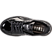 Top view of Women's Puma Fenty x Rihanna Wrinkled Pantent Creeper Casual Shoes in Puma Black/Puma Black