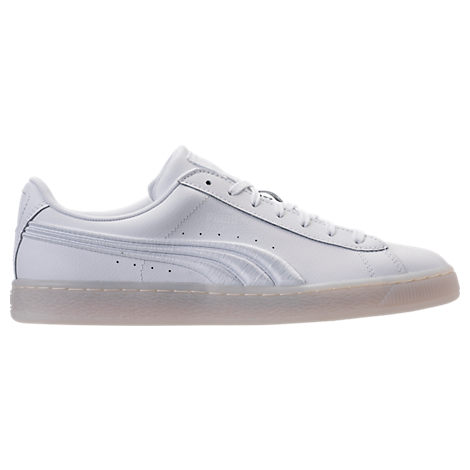Men's Puma Basket Classic Badge Iced Casual Shoes