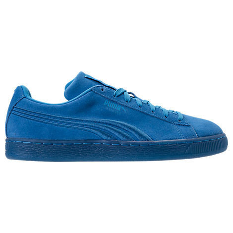 Men's Puma Suede Classic Badge Iced Casual Shoes