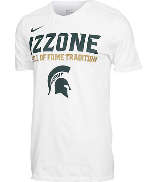 Men's Nike Michigan State Spartans College Izzone T-Shirt
