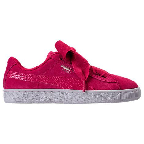 Girls' Grade School Puma Suede SNK JR Casual Shoes