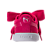 Back view of Girls' Preschool Puma Suede Heart SNK Casual Shoes in Love Potion/Love Potion