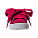 Front view of Girls' Toddler Puma Suede SNK Casual Shoes in Love Potion/Love Potion