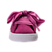 Front view of Girls' Toddler Puma Suede Heart Casual Shoes in Rose Violet