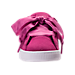 Front view of Girls' Preschool Puma Suede Heart Casual Shoes in Rose Violet