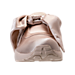 Front view of Women's Rihanna x Puma Fenty Bow Casual Shoes in Pink Tint