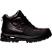 Right view of Men's Nike Air Max Goaterra Boots in Black/Black