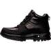 Left view of Men's Nike Air Max Goaterra Boots in Black/Black