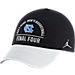 Front view of Air Jordan UNC Tar Heels College Final Four 2017 Championship Hat in Black