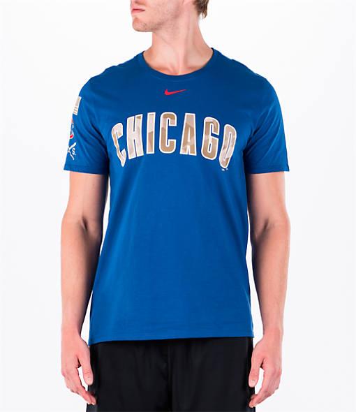 Men's Nike Chicago Cubs MLB 2017 Memorial Day T-Shirt