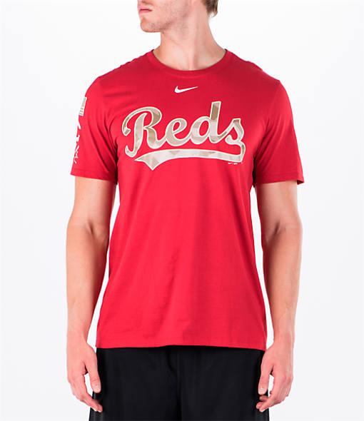 Men's Nike Cincinnati Reds MLB 2017 Memorial Day T-Shirt