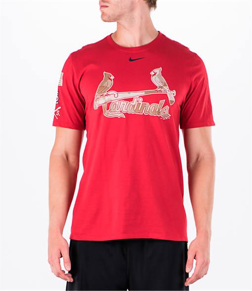 Men's Nike St. Louis Cardinals MLB 2017 Memorial Day T-Shirt