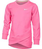Girls' Preschool Nike Dri-FIT Crossover Tunic Top