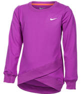 Girls' Preschool Nike Dri-FIT Crossover Tunic Top