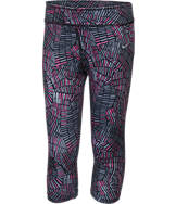 Girls' Preschool Nike Sport Essentials Allover Print Capri Leggings