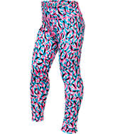 Girls' Nike Essentials Allover Print Tights