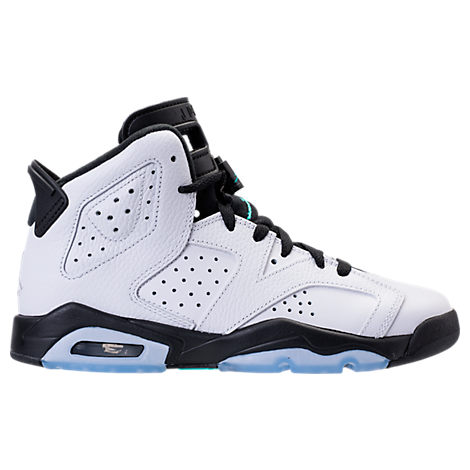 Boys' Grade School Air Jordan Retro 6 Basketball Shoes