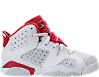 Boys' Preschool Jordan Retro 6 Basketball Shoes