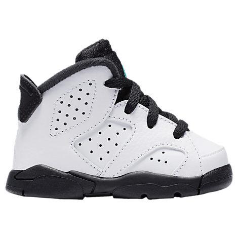 Boys' Toddler Air Jordan Retro 6 Basketball Shoes